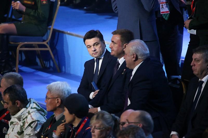 Воробьев принял участие в церемонии открытия Всемирных военных игр в Сочи