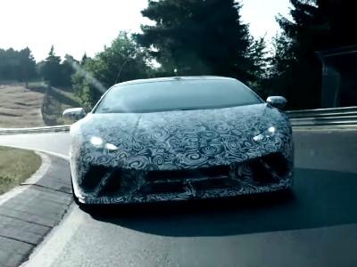 «Заряженный» Lamborghini Huracan стал звездой Нюрбургринга