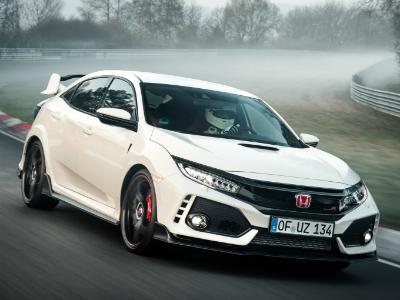 9 суперкаров медленнее Honda Civic Type R