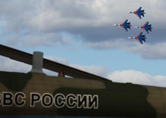 Авиация ВКС готовится к воздушной части военного парада, посвященного Дню Победы