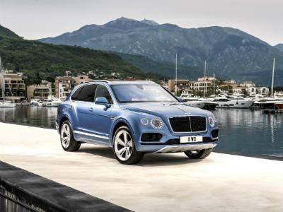 Bentley привезла в Россию первую модель с дизельным мотором
