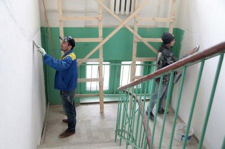 9 подъездов в 6 домах отремонтировали в Котельниках
