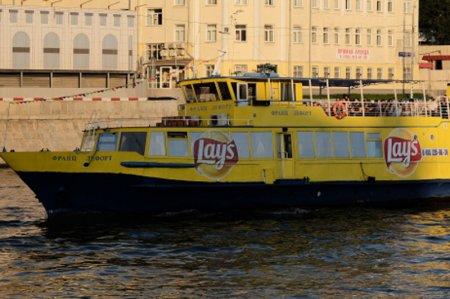 На Москве-реке спасатели эвакуировали пассажиров с теплохода «Франц Лефорт»