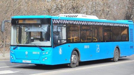 Расписание автобусов в Москве изменят из-за матча на стадионе «Спартак» во вторник