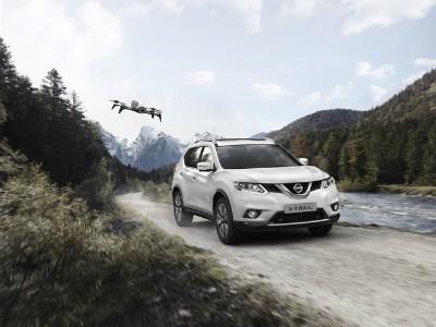 Nissan расширил список оснащения модели X-Trail за счет дрона