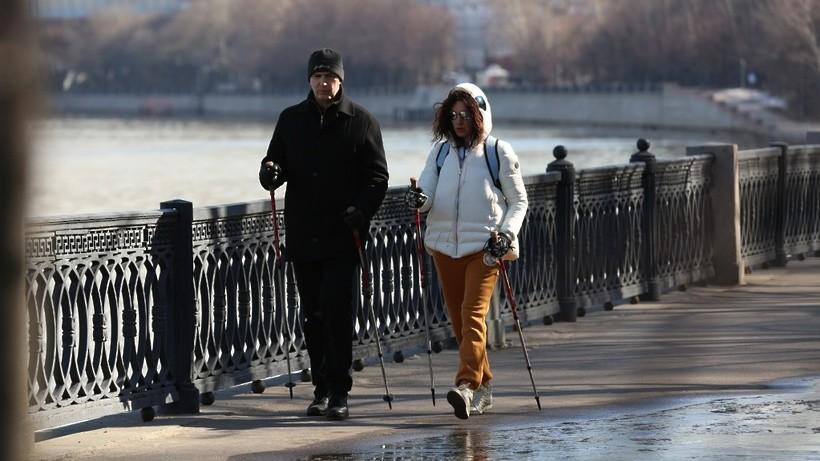 Пресс-конференция по развитию скандинавской ходьбы в Подмосковье минет в РИАМО в среду