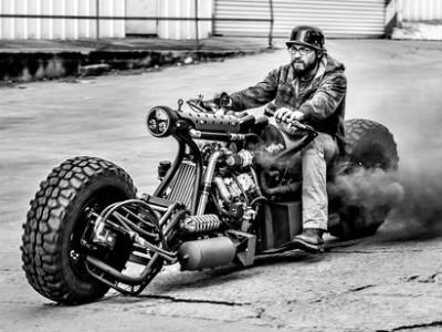 Самые редкие мотоциклы: байки на дизельном топливе