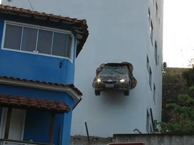 Самые странные и нелепые автомобильные аварии