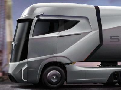 Tesla представит электрический грузовик в сентябре 2017 года