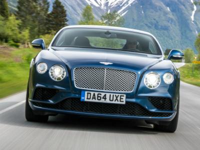 Видео: Bentley Continental GT против Bentayga. Спринт до 280 км/ч