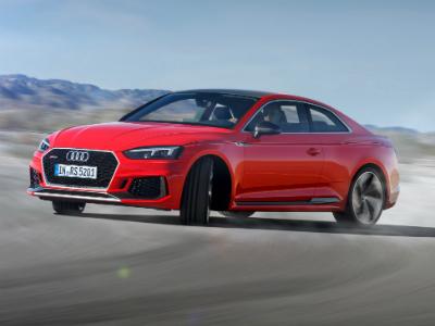 Audi объявляет российские цены на спорткупе RS5