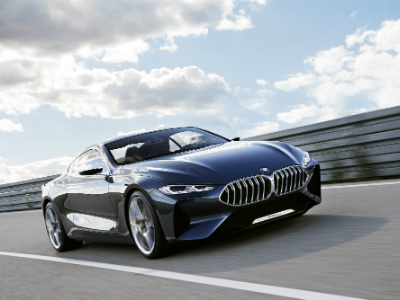 BMW официально представила концепт 8 серии