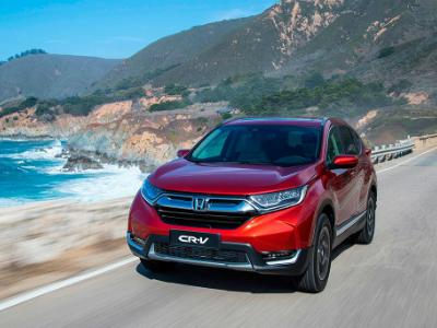 Honda объявила рублевые цены кроссовера CR-V нового поколения