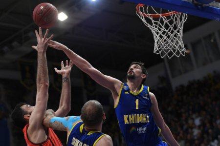 Баскетбольные «Химки» уступили «Зениту» во втором полуфинальном матче