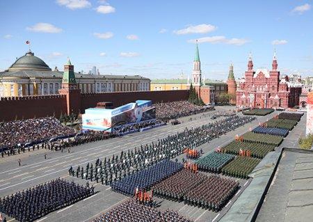 Генеральная репетиция парада Победы прошла на главной площади страны