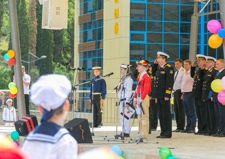 Главнокомандующий ВМФ России поздравил Международный детский центр «Артек» с началом работы II Всероссийского сбора юных моряков