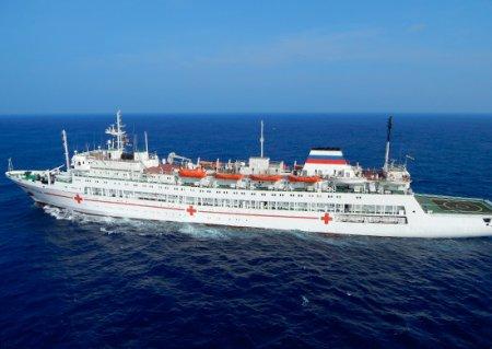 Госпитальное судно Тихоокеанского флота «Иртыш» завершило визит во вьетнамский порт Камрань