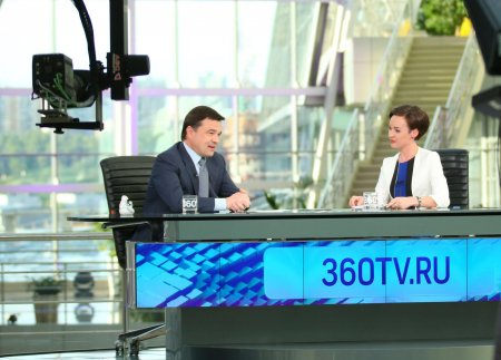 Губернатор подвел итоги мая в традиционном эфире телеканала