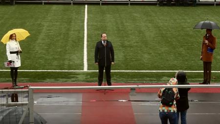 Мэр Химок готов извиниться за неудачное выступление в честь Дня Победы