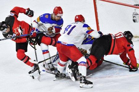 Парамошкин: наши хоккеисты, похоже, разучились выступать против североамериканцев