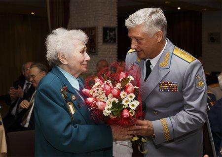 В главном командовании ВКС прошло чествование ветеранов Великой Отечественной войны
