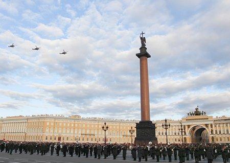 В Санкт-Петербурге прошла генеральная репетиция Парада Победы