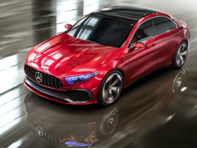 Mercedes-Benz представит новое семейство начальных моторов