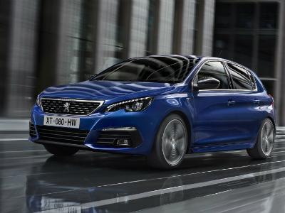 Peugeot показала первые фото обновленного семейства 308
