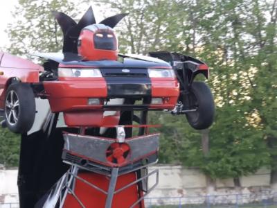 Россиянин превратил «Ладу» в автомобиль-трансформер