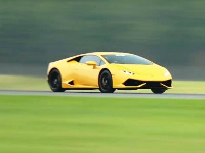 Видео: Lamborghini Huracan разгоняется до 400 км/ч за 800 метров
