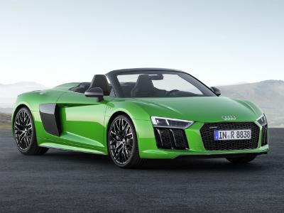 Audi показала самый мощный в своей истории родстер