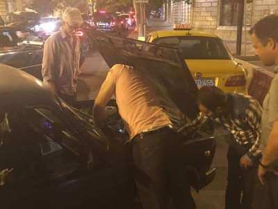 Азербайджанец на «Жигулях» отверг помощь чемпиона Формулы-1
