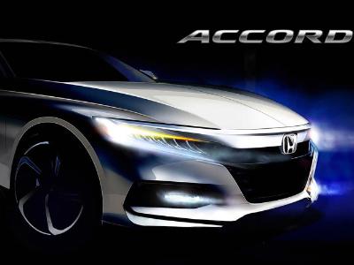 Honda показала тизер десятого поколения Accord