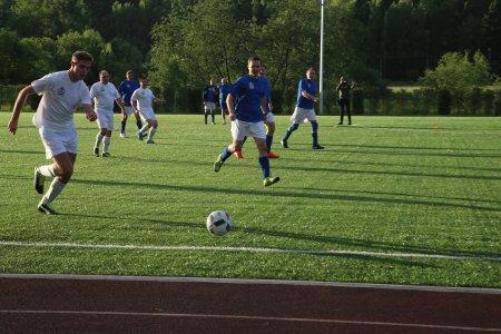 Команды глав Подмосковья сразились в турнире по футболу