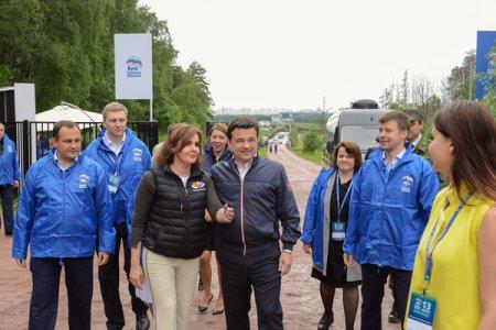 Подмосковная «Единая Россия» совместно с Губернатором Московской области обсудила вопросы благоустройства парковых зон