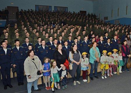 В Челябинском филиале ВУНЦ ВВС прошел большой спортивный праздник