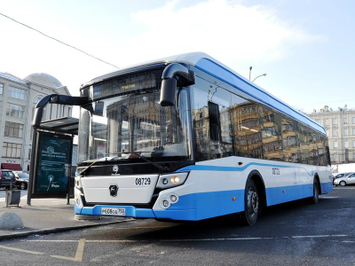 Первые электробусы поедут по Москве уже в 2018 году