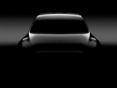 Tesla опубликовала тизер электрокроссовера Model Y