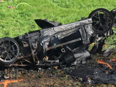 Видео: Ричард Хаммонд попал в жуткую аварию на гиперкаре Rimac