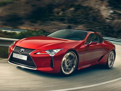 Lexus объявляет старт российских продаж флагманского купе LC