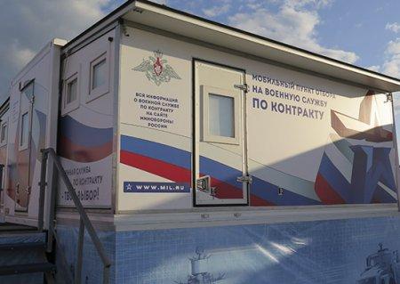 С начала года пунктом отбора граждан на военную службу по контракту в Краснодаре направлено в войска ЮВО свыше 1000 человек