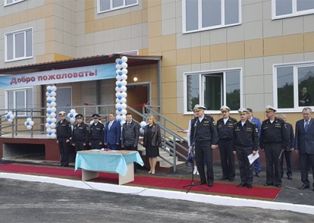 В Гаджиево сдан пятый дом для подводников Северного флота