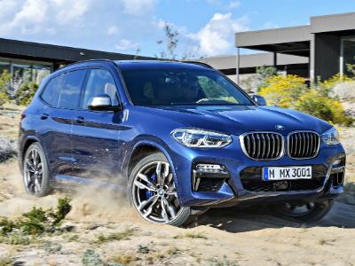 Стала известна рублевая цена на новый BMW X3
