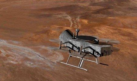 NASA проектирует мультикоптер Dragonfly, который отправится исследовать Титан в 2025 году