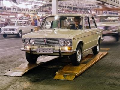 «АвтоВАЗ» отмечает 45-летие модели ВАЗ-2103