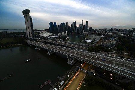 Гран При Сингапура: лучшие фото субботы