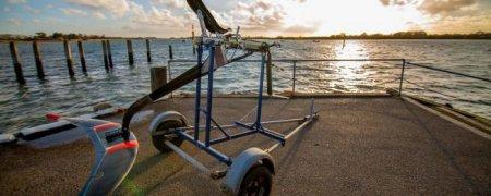 Будто сделать самый бойкий в мире водный транспорт на педалях?