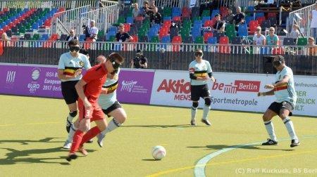 Сборная региона по мини-футболу среди слепых стала победителем первенства России
