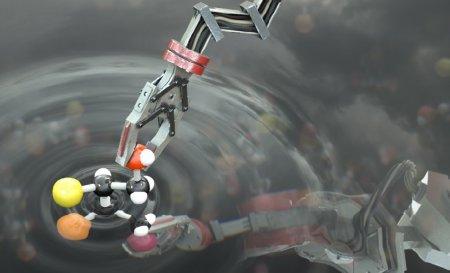 Создан первый в мире «молекулярный робот», способный строить молекулы