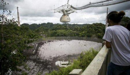 Ураган «Мария» серьёзно повредил знаменитый радиотелескоп «Аресибо»